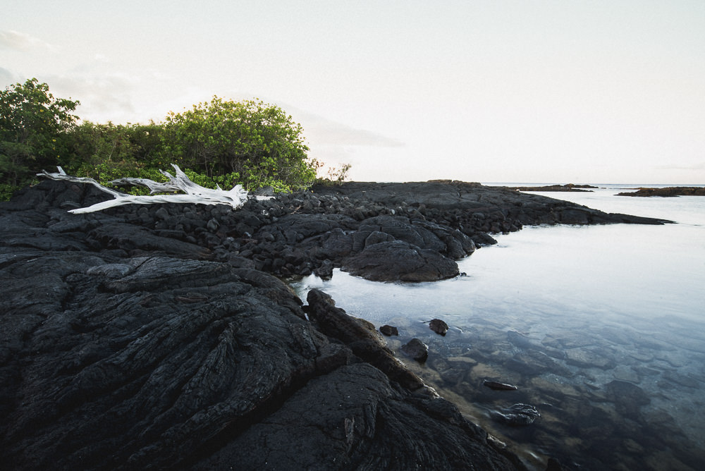 Morning Tide Pools At Keauhou Beach