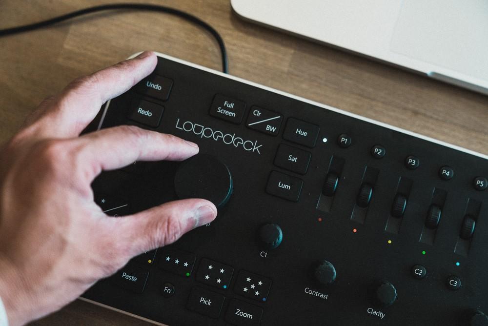 Loupedeck Rotate/Crop Dial