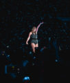 Taylor Swift at Rose Bowl During Reputation Stadium Tour Concert
