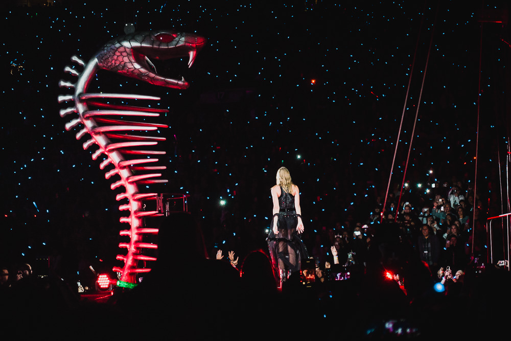 Image result for taylor swift reputation tour