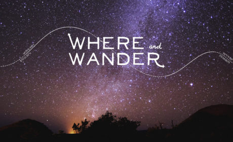 Where and Wander Logo Banner