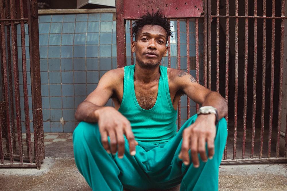 Portrait of Cuban man in Havana