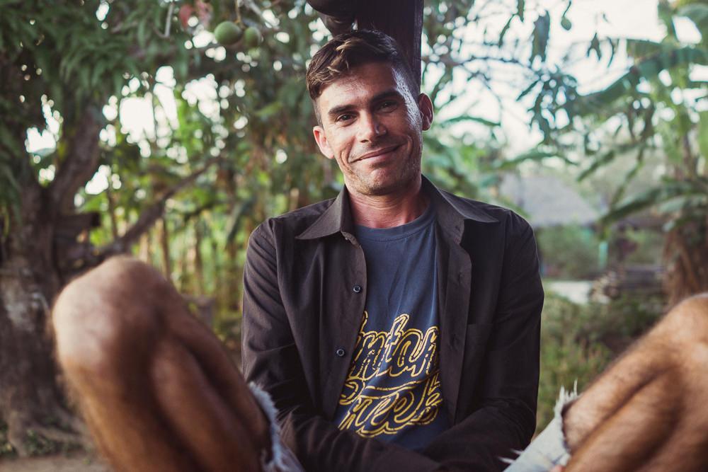Portrait of Cuban guide in Vinales