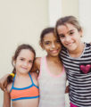 Portrait of Cuban girls in Cienfuegos