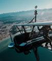 Wing Walking On Stearman Biplane