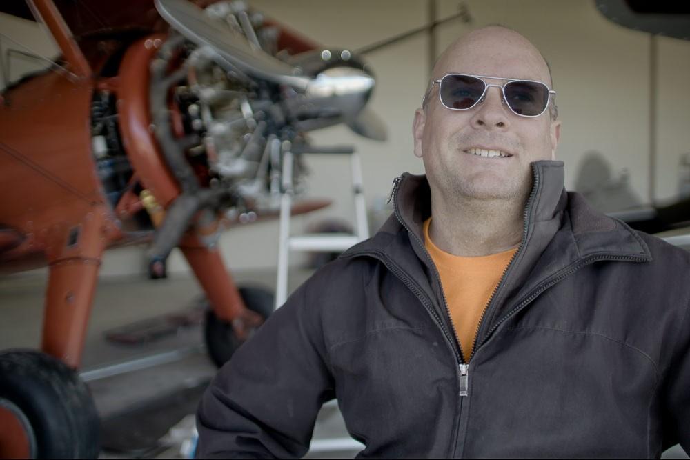 Mike Mason Wing Walking Aerobatics Pilot