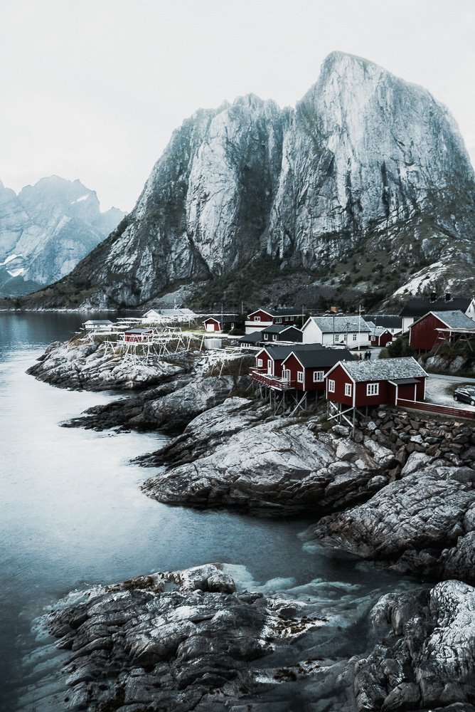 Hamnoy village in the Lofoten Islands of Norway