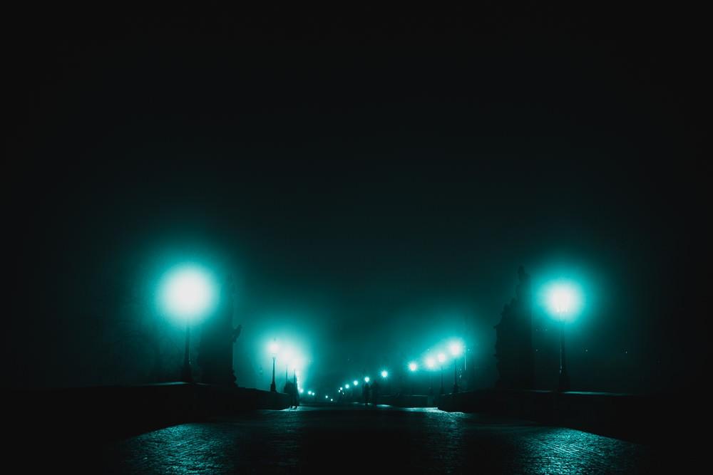 Charles Bridge Before Dawn