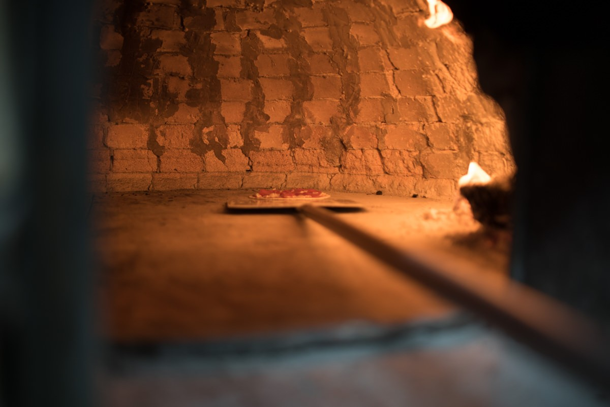 La Rustica wood oven pizza