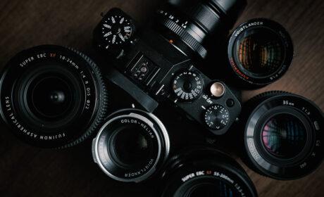 Fujifilm X-T4 and Voigtlander 3rd Party Lenses
