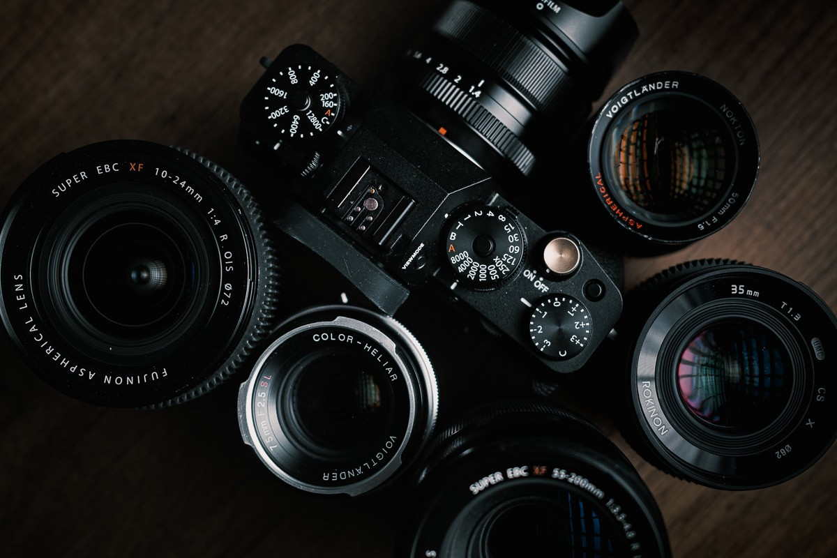 Fujifilm X-T4 and Voigtlander 3rd Party Lenses