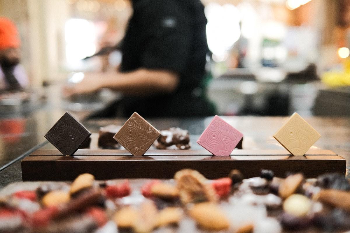 Chocolate sampling at Cacao Magico in Puerto Vallarta